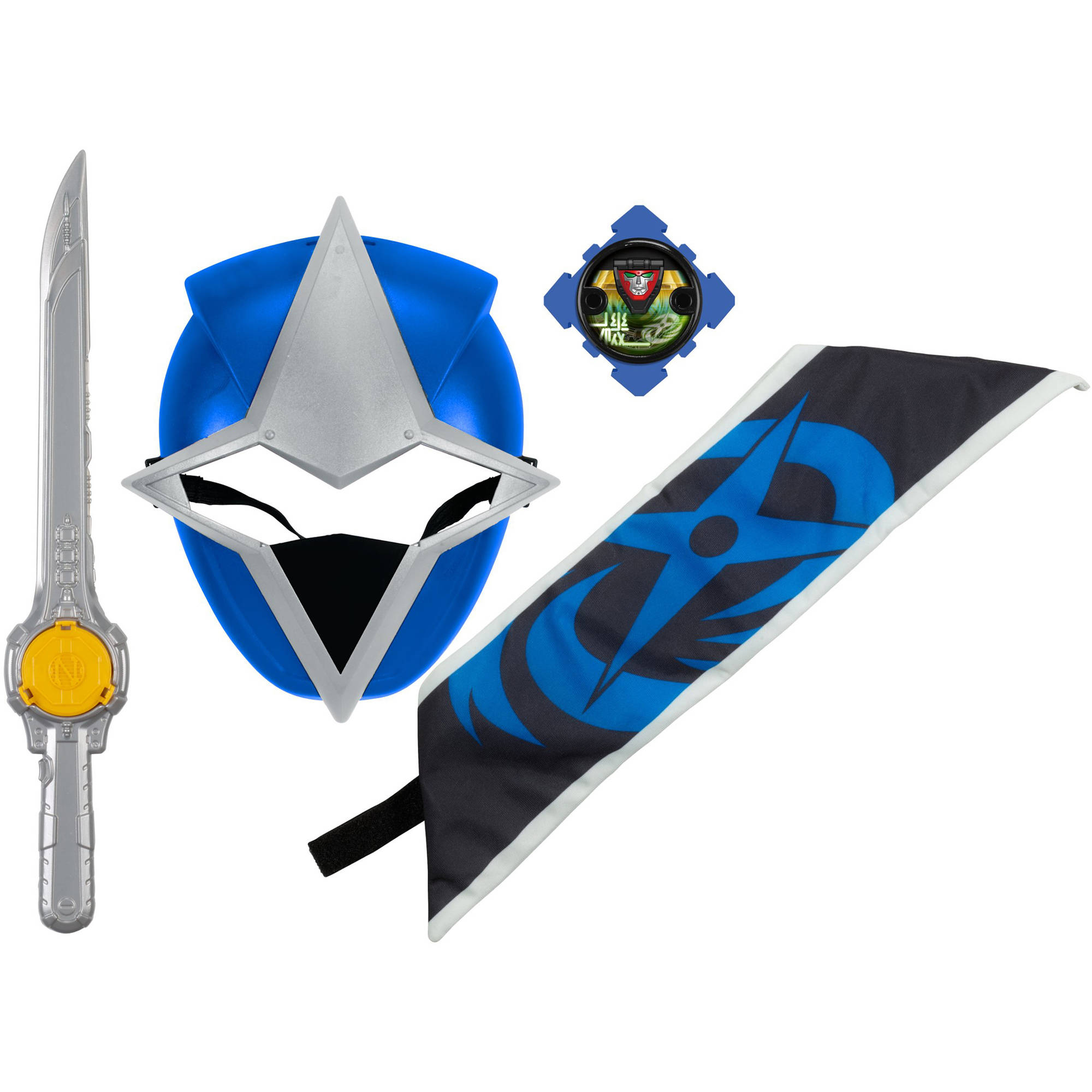 Power Rangers Ninja Steel Blue Ranger Hero Set
