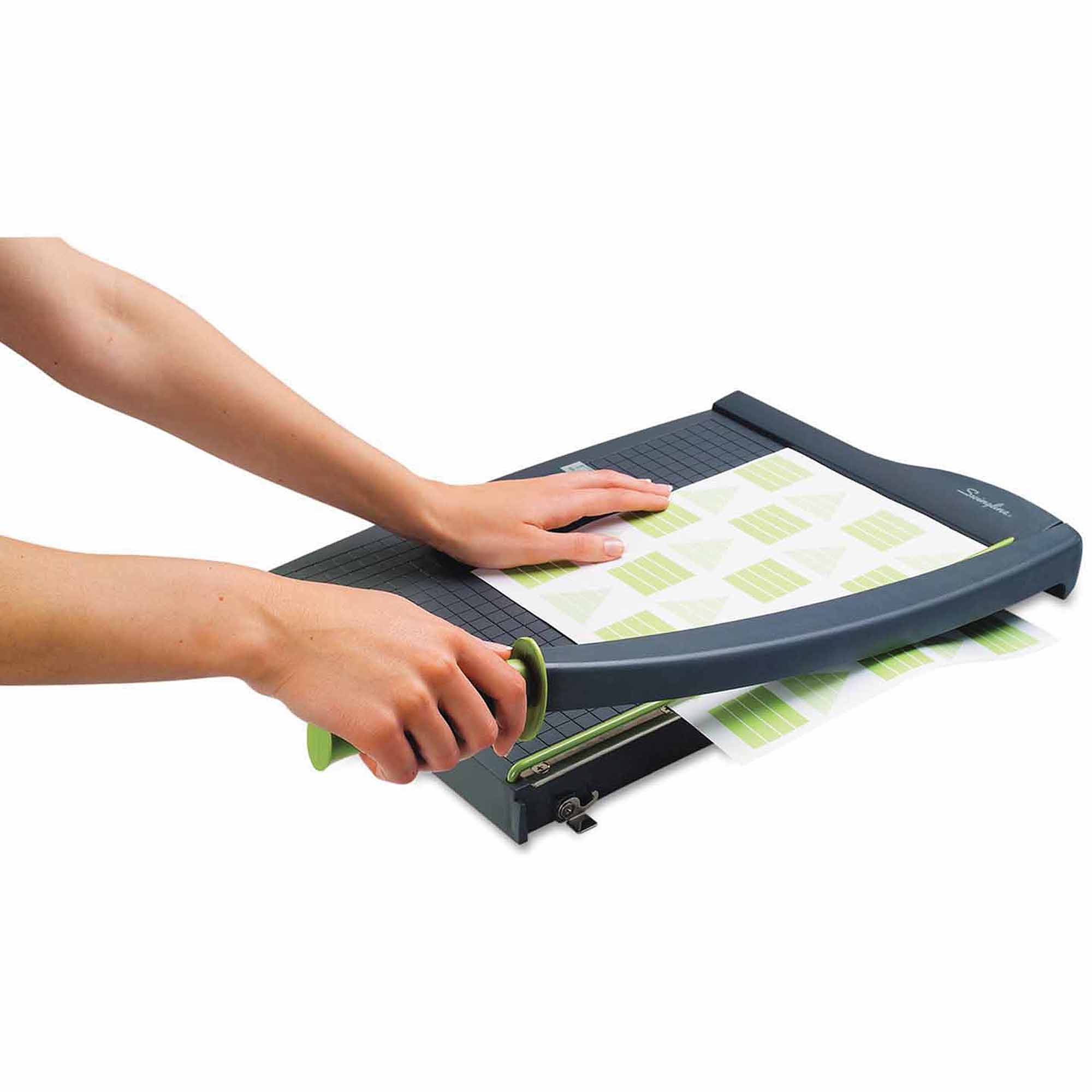 "Swingline ClassicCut Lite Paper Trimmer, 10 Sheets, Durable Plastic Base, 15"" x 22 1/2"""