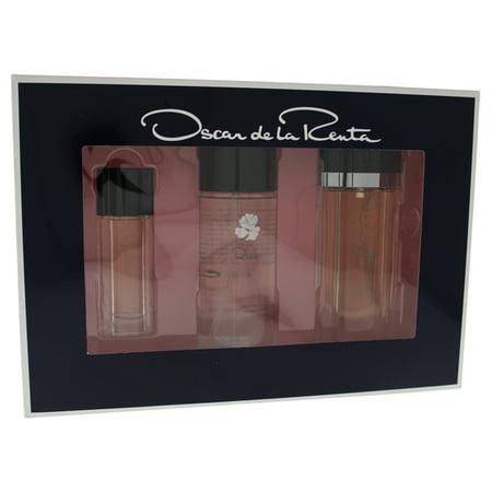 Oscar de la Renta Oscar Perfume Gift Set for Women, 3 Pieces