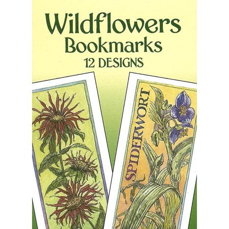 Dover Bookmarks: Wildflowers Bookmarks: 12 Designs (Other)