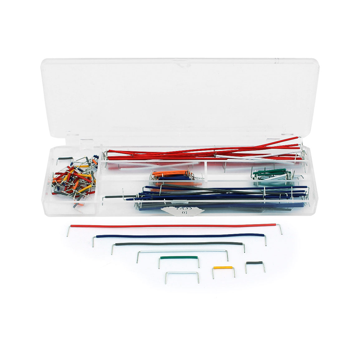 140 Pcs Breadboard Jumper Cable Wire Kit For Board With Watterott Electronic