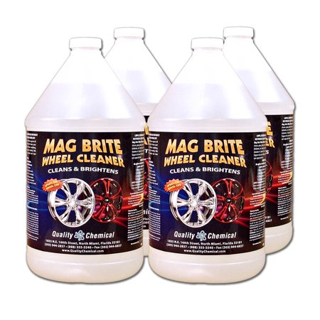 Mag Brite Acid Wheel and Rim Cleaner - 4 gallon (Best Rim Cleaner For Aluminum Rims)