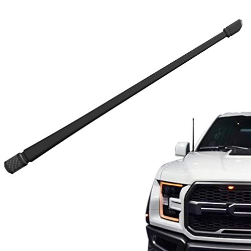 Unikpas Car Antenna Compatible for Ford F150 Raptor Dodge Ram 1500 Jeep Wrangler 13 inches Flexible Rubber Antenna Replacement