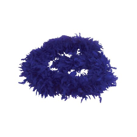 Blue Feather Boas (Large Blue 72
