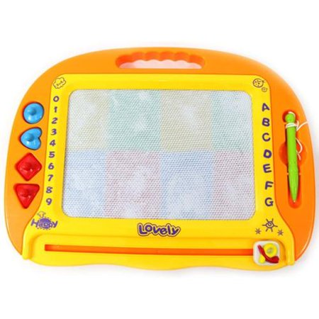 Rainbow Color Magnetic Drawing Doodle Board (Magnetic Drawing Board)