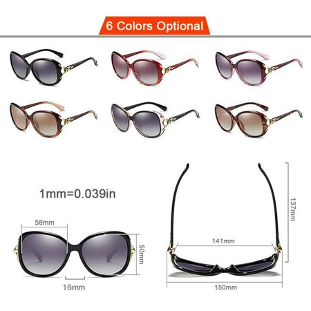 Fashion Polarized Sunglasses for Women UV400 (Best Polarized Sunglasses 2019)