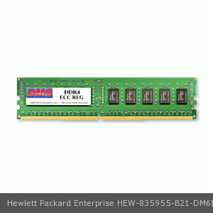 DMS Compatible/Replacement for Hewlett Packard Enterprise 835955-B21 Synergy 660 Gen10 Base Compute Module 16GB DMS Certified Memory DDR4-2666 (PC4