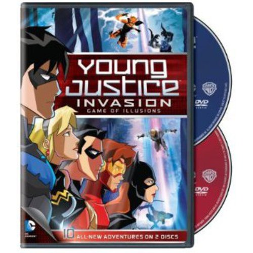 YOUNG JUSTICE GAME OF ILLUSIONS-SEASON 2 PART 2 (DVD2 DISC/FF)