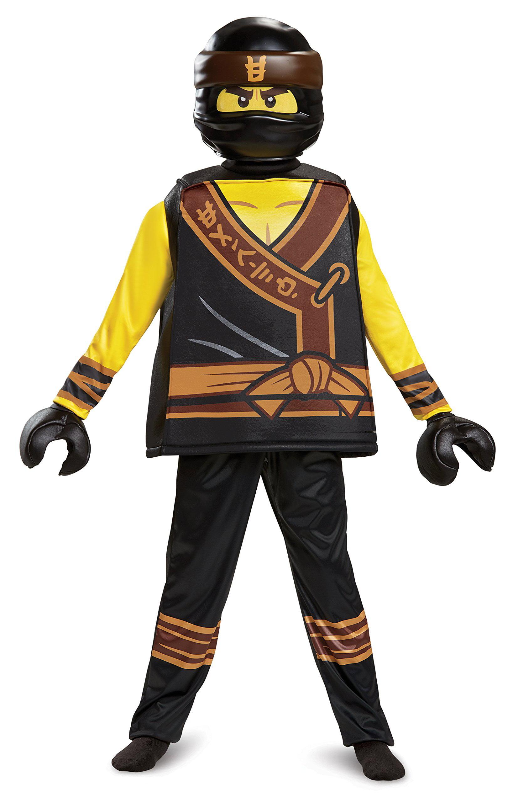 boys' lego ninjago movie cole deluxe costume  walmart