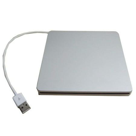 Generic Usb External Slim Slot in Case Enclosure for Sata 9.5mm Slot Load Cd Dvd Rw Blu-ray Drive ()
