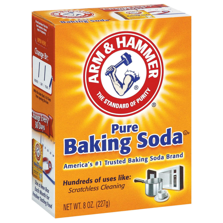 3 Pack Arm Hammer Pure Baking Soda 8 Oz Walmart Com