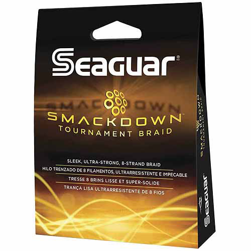 Seaguar Smackdown Braided Line, 150 Yards