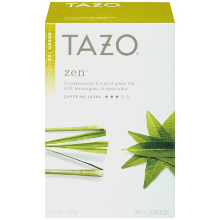 (3 Boxes) Tazo Zen Tea bags Green tea 20ct