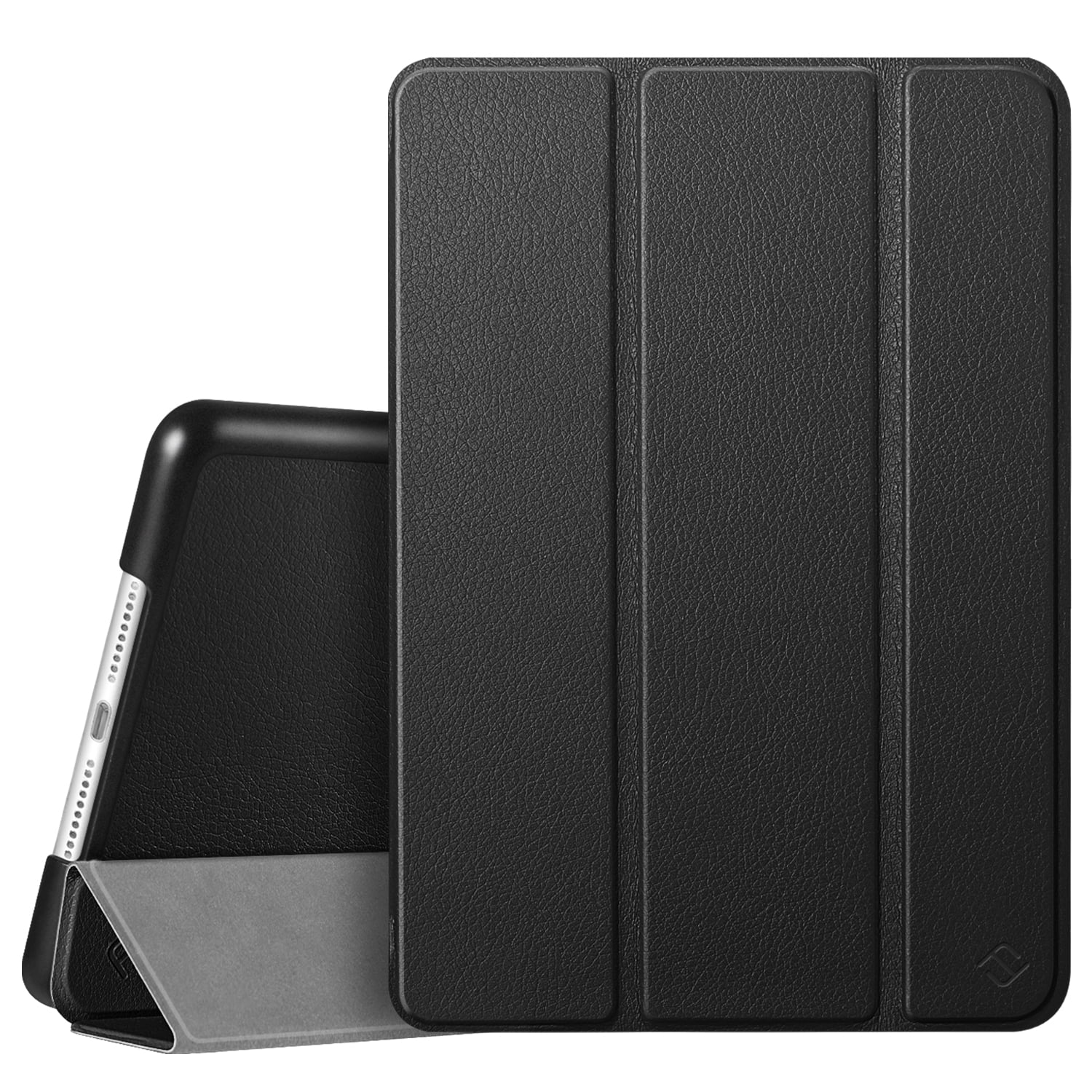 Multiple Viewing Angles for iPad 10.2 7th Gen,Black Premium PU Leather Slim Folding Stand Cover with Auto Wake//Sleep Ztotop Case for New iPad 10.2 Inch 2019 7th Generation