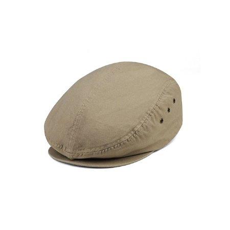24533cc4260c0 Mega Cap - MG Men s Plaid Ivy Washed Canvas Newsboy Cap Hat - Walmart.com