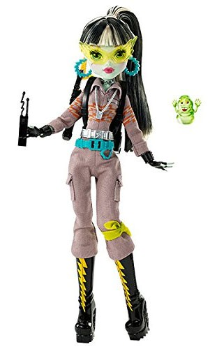 Monster High Ghostbusters Frankie Stein Doll by Mattel