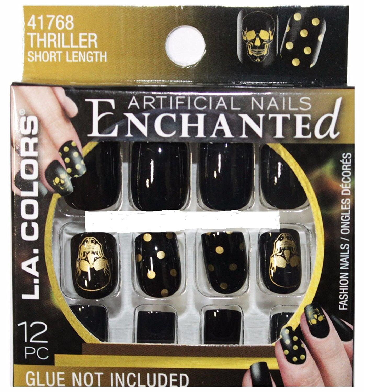 L.A. Colors Artificial Nails Halloween Enchanted #41768 ...