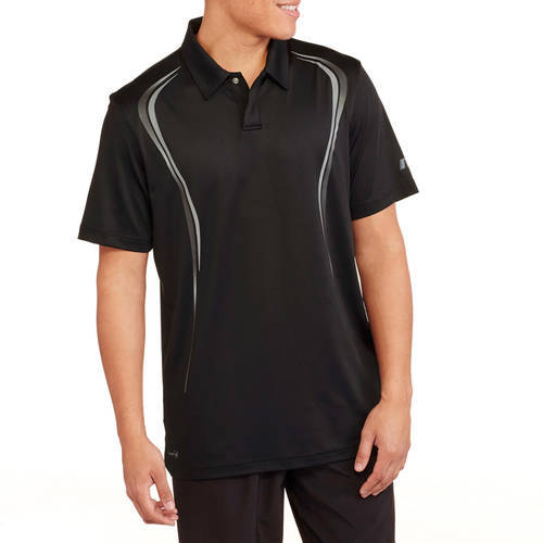 Russell Men's Laser Cut Mesh Back Performance Active Polo