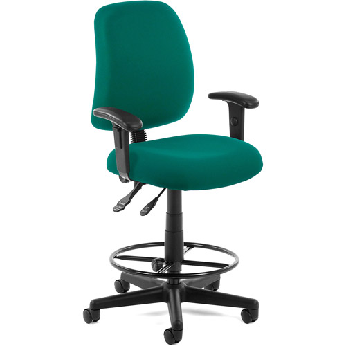 OFM Posture Task Chair with Arms and Drafting Kit