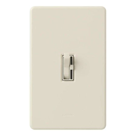 Lutron 36654 - 600 watt Light Almond Single Pole Preset Dimmer Switch