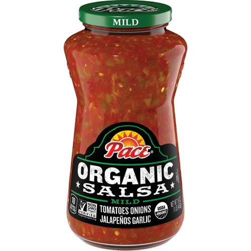(3 Pack) Pace Organic Salsa Mild, 16 oz.