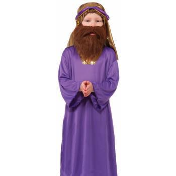 BIBLE TIMES-WISEMAN BEARD-BRWN - Bible Costumes
