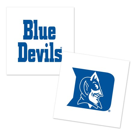 Duke Blue Devils Official NCAA 4 Pc Temporary Tattoos by