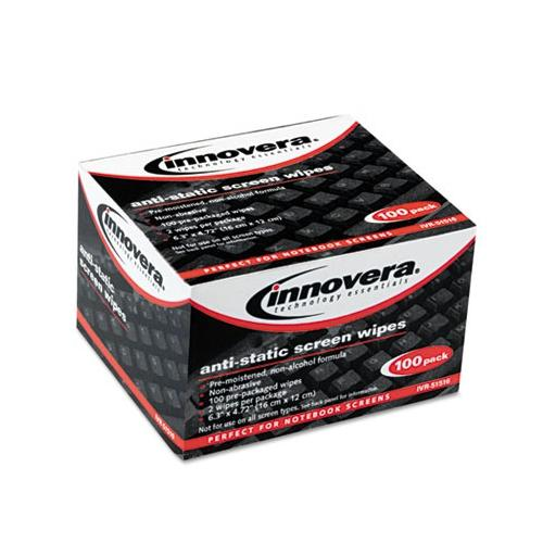 Innovera Screen Cleaning Wipes IVR51516