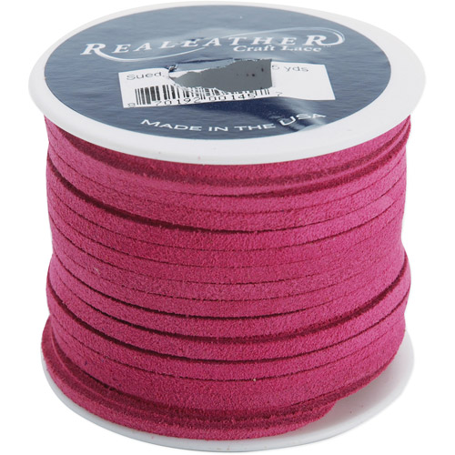 "Suede Lace 1/8"" 25 Yard Spool"