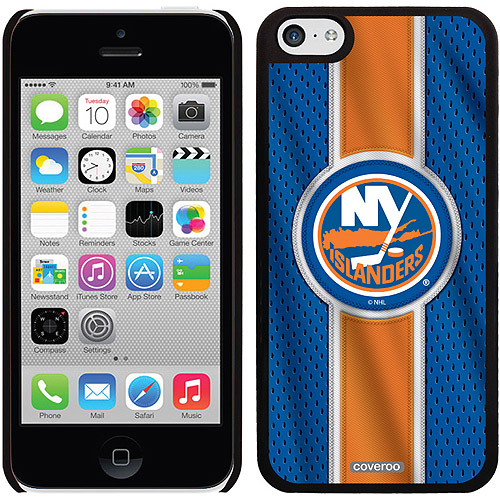New York Islanders Jersey Stripe Design on iPhone 5c Thinshield Snap-On Case by Coveroo