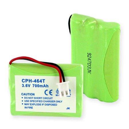 Empire CPH-464T 3.6V Telematrix 9600 Series Nickel Metal Hydride Battery 700 mAh - 2.52 watt