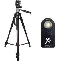 "XIT 72"" Tripod + Wireless Remote for Nikon D3300 D3100 D5300 D5500 D7200 SLR"