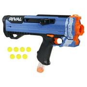 Helios XVIII-700 Nerf Rival Blaster (Blue) -- Bolt-Action, 7 Official Nerf Rival Rounds, 7-Round Magazine