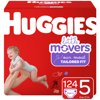 HUGGIES Little Movers Diapers, Size 5, 124 Count