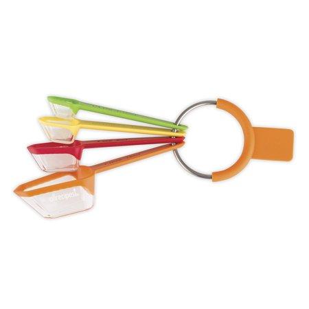 Allrecipes 4 Piece Nested Measuring Spoon Set  Multicolor