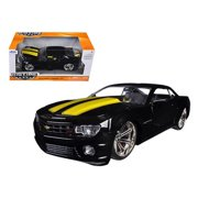 2010 Chevrolet Camaro SS Red With Black Stripes 1/24 Diecast Model Car by Jada