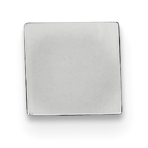Sterling Silver Engravable Tie tac
