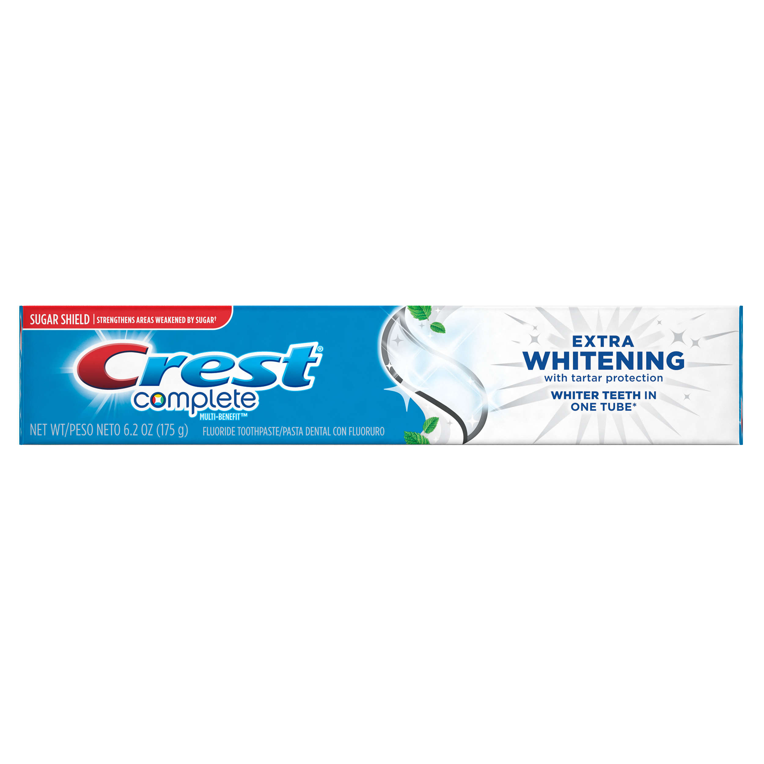 Crest Complete Multi-Benefit Extra Whitening Tartar Protection Clean Mint Flavor Toothpaste (Choose Size)