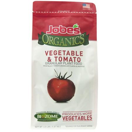 Jobe's Organic 4lbs. Granular Vegetable and Tomato Plant
