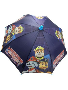 Nickelodeon Little Boys Paw Patrol Super Heroes Work Together Character Umbrella, Age 3-7