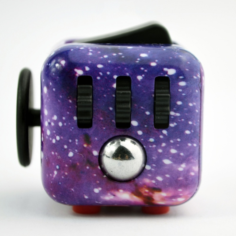 Fun Stress Relief Focus 6-side Fidget Cube Dice Adults Kids Toys