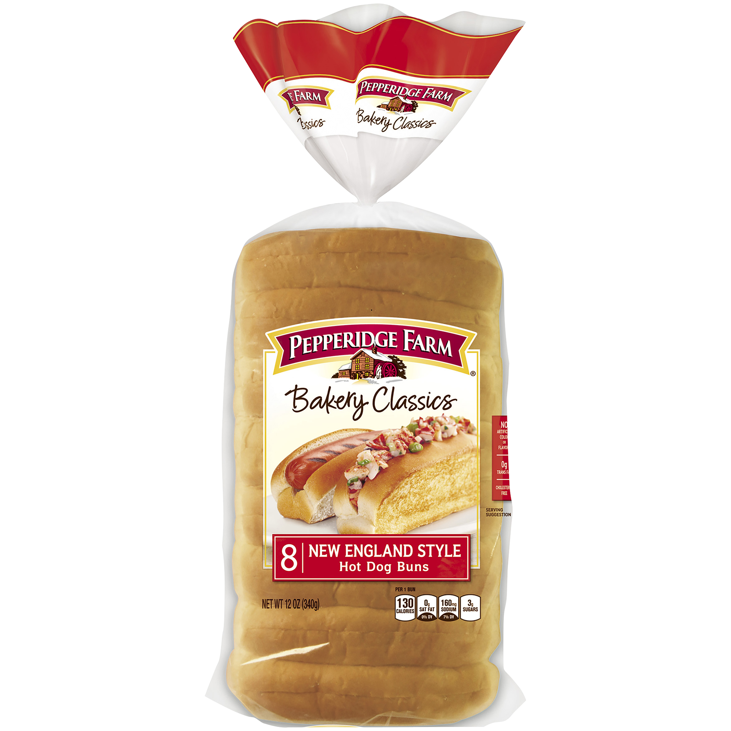 Delightful Pepperidge Farm® Bakery Classics New England Style Hot Dog Buns 12 Oz. Pack    Walmart.com