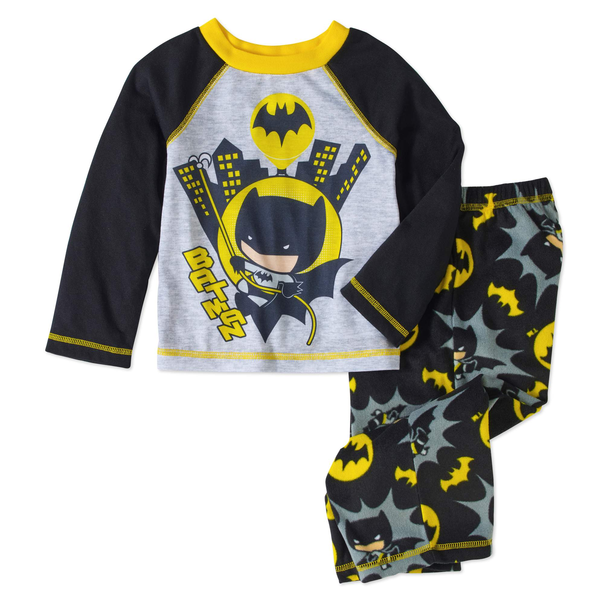 DC Comics Batman Toddler Boys Pajamas 2-piece Set