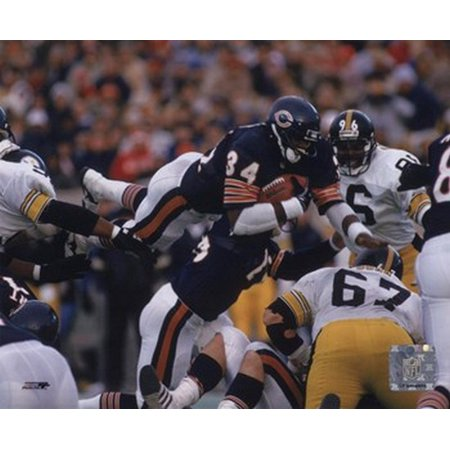 - Walter Payton - Action airbound Sports Photo