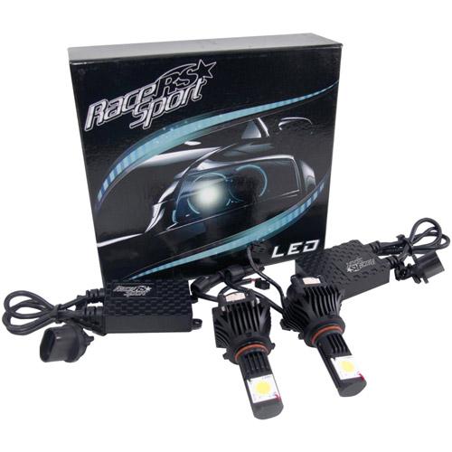 Race Sport 9005-LED-G1-KIT 5,000K TRUE LED Headlight Conversion Kit, 9005 Base