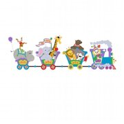 Elephants on the Wall 5-1213 Small Circus Train - Paint It Yourself