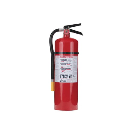 Kidde Pro 4-A:60-B:C Rechargeable Fire Extinguisher for $<!---->