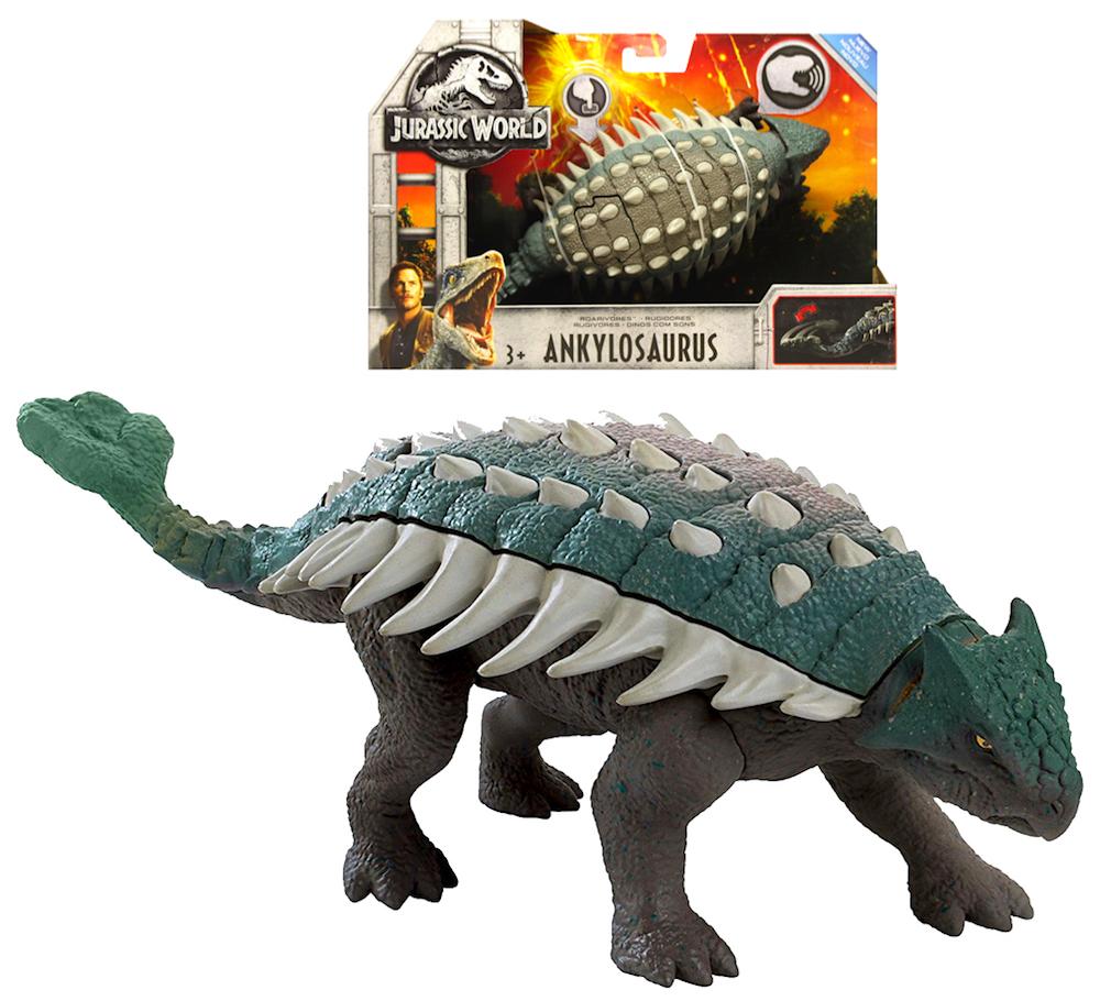 """Ankylosaurus Dinosaur Jurassic World Fallen Kingdom Posable Figure 6"""""""