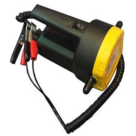 ALEKO 12V 5A DC Motor Fuel Oil Diesel Pump with Hose With Handle And On/Off Switch Fuel Oil Pump
