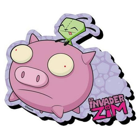 Magnet - Invader Zim - Gir Funky Chunky New (Invader Zim Gir Plush)